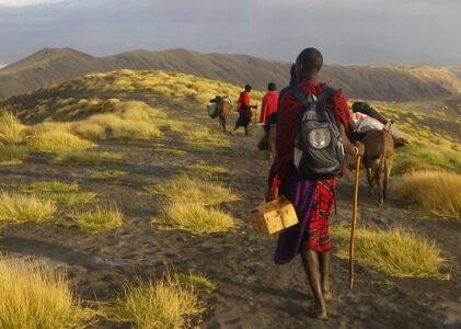 6 Days Hike The Ngorongoro Highland With Maasai And Donkeys..!